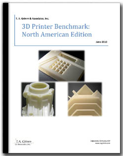 3D printer benchmark cover